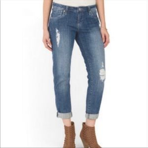 KUT FROM THE KLOTH Celine Slouchy Boyfriend Jeans